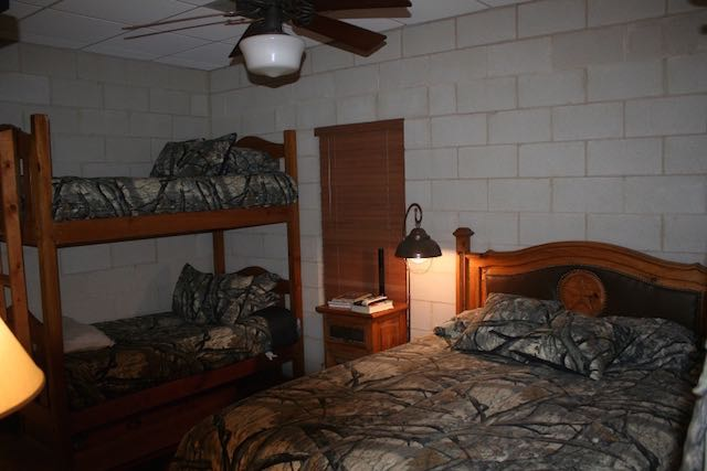 Bedroom Area for Hunter Guests